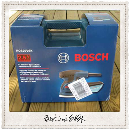 Bosch Variable Speed Random Orbital Sander
