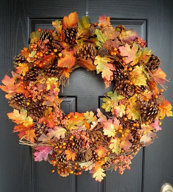Pinterest Fall Wreath